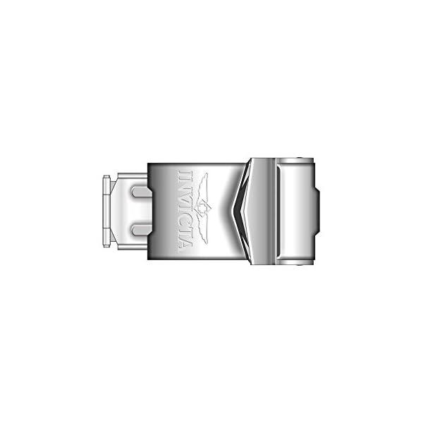 RELOJ INVICTA PARA HOMBRES -  casual de acero inoxidable con cuarzo Pro Diver, color: plateado (modelo: 9204OB)