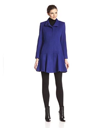 Sofia Cashmere Women's Flounce Hem Coat