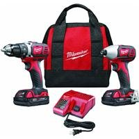 Milwaukee 2691-22 18-Volt Compact Drill and Impact Driver Combo Kit from Milwaukee