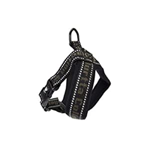 Hurtta Pet Collection 39-Inch Padded Y-Harness, Black
