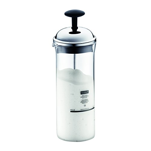Bodum Chambord Milk Frother, Medium, 5-Ounce, Chrome (Bodum Chambord Milk compare prices)