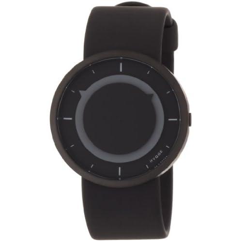 [ヒュッゲ]HYGGE 腕時計 3012-BLACK/COOL GLAY MSP3012BC(GR)  【正規輸入品】