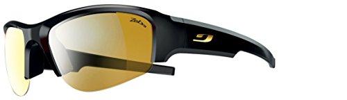 Julbo Women's Access Performance Sunglasses, Zebra Lens, Black