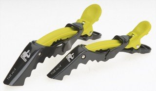 SIBEL Strong sectioning clips - Yellow - Pack of 4