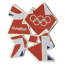 Union Jack Metall Kühlschrank Magnet Offizielle London 2012 Olympische Memorabilia Geschenk + gratis Zwei London 2012 Offizielle Schlüsselanhänger: Tennis & Fußball Schlüsselanhänger - Tennis Keychain & Fußball Keychain, London 2012 Keychain
