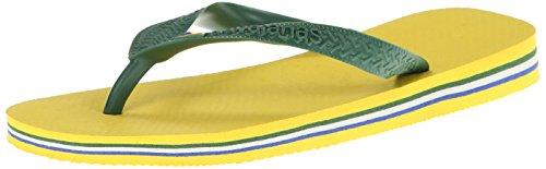 Havaianas Women'S Brasil Flip Flop,Citrus Yellow,37/38 Br/7-8 M Us