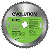 Advanced EVOLUTION (POWERTOOLS) - FURYBLADE255MULTI - BLADE, FURY, 255MM - Min 3yr Cleva Warranty