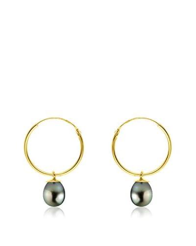 Pearl Addict Pendientes oro amarillo 18 ct
