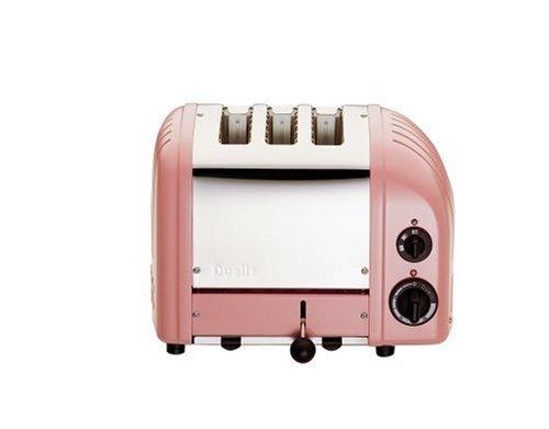 Dualit 3 Slice Combi Toaster Petal Pink 31212
