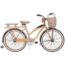 "Great Features Of Huffy Champion 26"" Women's Cruiser Bike, Butterscotch"