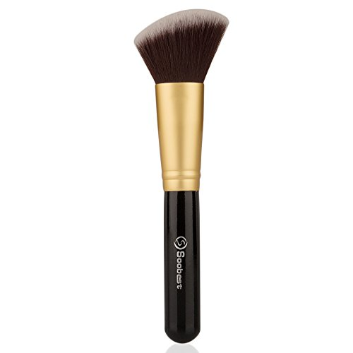 how to put on powder foundation with a brush