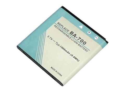 3,70V 1500mAh Akku BA700, Ersatz für Sony Ericsson Xperia Pro MK16a, Xperia Pro MT16i, Xperia SX Komachi, Xperia SX MT28, Xperia SX SO-05D, Xperia kyno, Xperia kyno V, Xperia tipo dual Smart Handy Akku