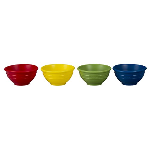 Le Creuset Multi-Colored Silicone Pinch Bowl, Set of 4