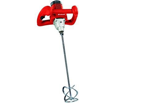 Einhell-Farb-Mrtelrhrer-TC-MX-1400-E-1400-Watt-Drehzahlregelung-M14-Aufnahme-Mrtelrhrer-2-Gabelschlssel
