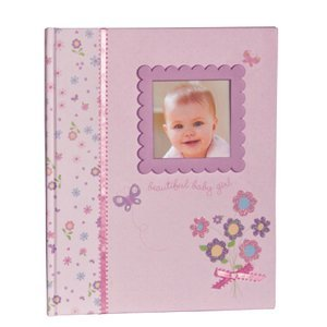 C.R. Gibson Keepsake Memory Book of Baby's First Year, Little Bloom (Discontinued by Manufacturer)