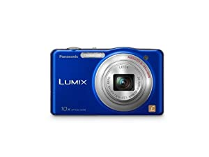 Panasonic Lumix SZ1 16.1 MP Digital Camera with 10x Optical Zoom (Blue)