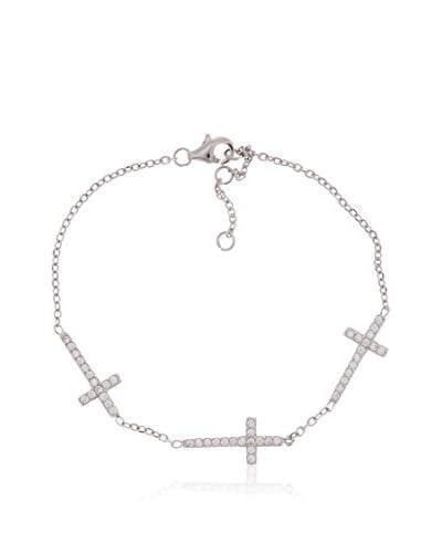 Córdoba Jewels Braccialetto argento 925 rodiato