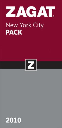 Zagat 2010 New York City Pack