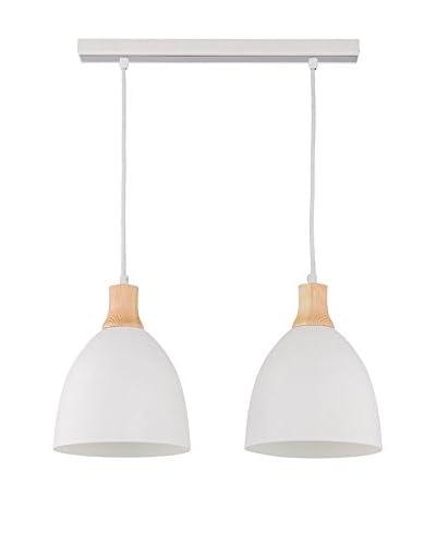 Lightshape Lámpara De Suspensión Levio 2 Blanco
