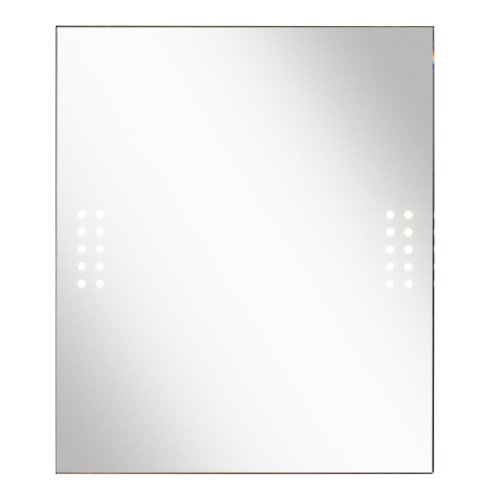 Kichler Lighting 78202 Lighted 33In 20Lt 2W 3000K Energy Efficient Led Vanity Mirror, Clear Mirror With Etched Glass front-1072111