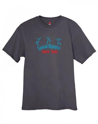 Shirtloco Men'S Special Olympics Dance Team T-Shirt, Smoke Gray 2Xl