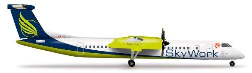 Daron Herpa Sky Work Q400 Model Kit (1/500 Scale)