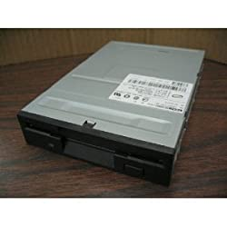 DELL - Dell/TEAC 1.44MB 3.5in FD-235HG Floppy Drive 1K304 Bezeless Blck Door No Button