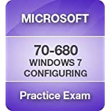 Windows 7, Configuring Practice Exam [CD-ROM] [CD-ROM] 6 Month Pass Guarantee ~ Microsoft Software