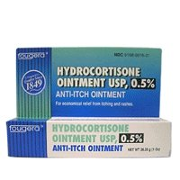 Hydrocortisone 0.5 % Anti Itch Ointment OTC By Fougera - 1 OZ