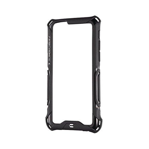 ELECOM iPhone6S iPhone6 ZEROSHOCK ハイブリッドバンパー ブラック PM-A14ZEROBBK