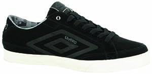 Umbro Terrace Low Suede, Chaussures de tennis homme - Noir (229 Noir/Schiste), 44 EU