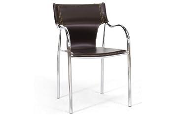 Harris Brown Modern Dining Chair with Chanasya Polish Cloth Bundle (Set of Two)