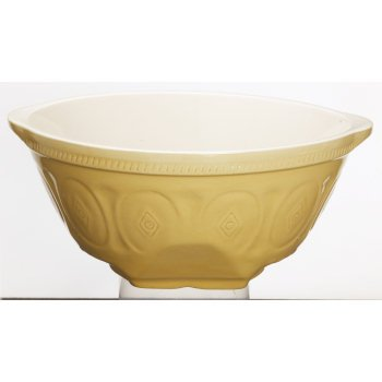 Kitchen Craft Traditional Stoneware Round Mixing Bowl, 6 Litres
