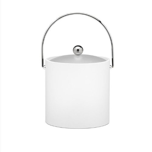 Kraftware Bartenders Choice 3-Quart Ice Bucket, White