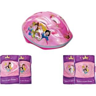 Disney Princess Bike Helmet and Pad Set - Girls' from Disney Princess Bike Helmet and Pad Set - Girls'