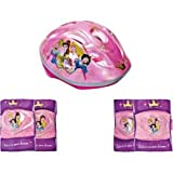 Disney Princess Bike Helmet and Pad Set - Girls'