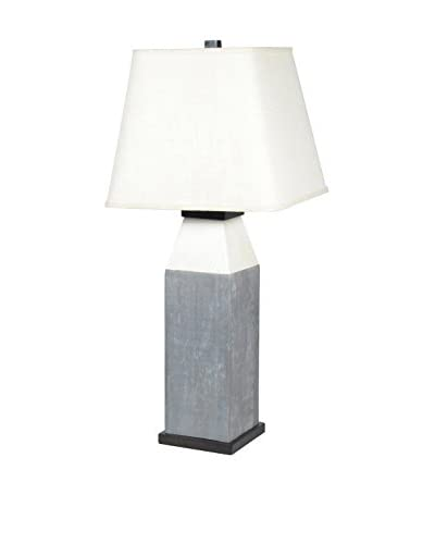 Palecek Birdrock Table Lamp, Gray