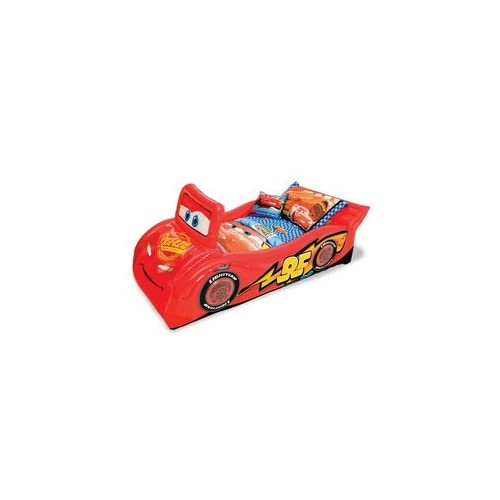 cars lightning mcqueen inflatable bed air. Black Bedroom Furniture Sets. Home Design Ideas