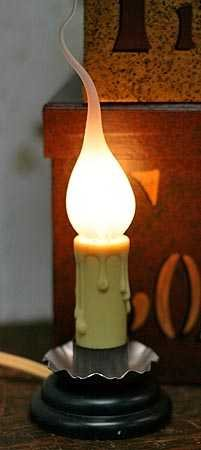 Electric Country Welcome Candle Lamp With Silicone Bulb (Pkg Of 3)
