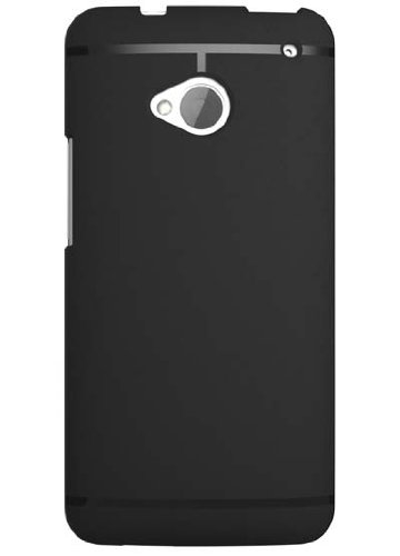 Chivel (Tm) Premium Slim Fit Soft Tpu Protector Case For New Htc One Smartphone (M7, Black)