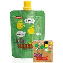 Gogo Squeez Appleapple Applesauce on the Go 3 2 ounce Pouches Pack of 12
