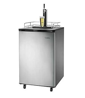 Smart+ Products SPP155BDSS Freestanding Keg Kegerator Beer Fridge Dispenser