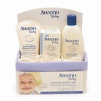 Aveeno Baby Gift Set, Soothing Relief Basket
