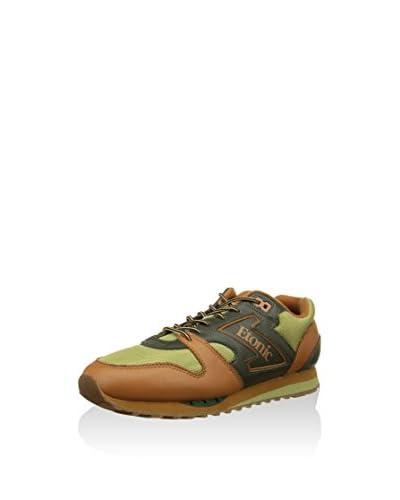 Etonic Sneaker Trans Am Ghurka [Verde/Marrone]