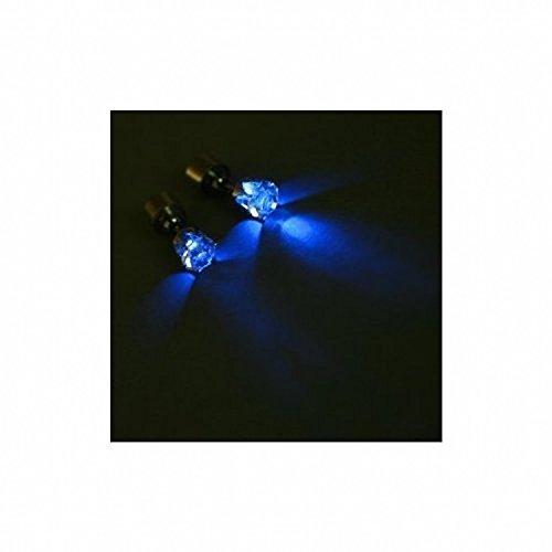 freshgadgetz-1-set-di-orecchini-led-forma-stella-corona-splendente-blue-crown