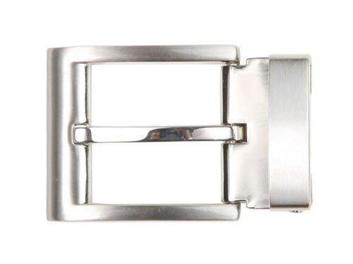 1 1/4 Inch (34 mm) Nickel Free Clamp Belt Buckle