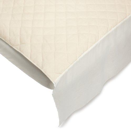 Bargoose Natural Cotton Top Portable Mattress Protector front-227960