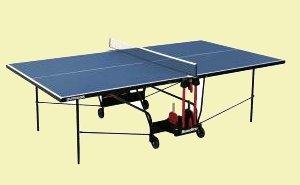 """Tischtennisplatte """"Outdoor"""",wetterfest, original Turniermaße, TÜV geprüft, unempfindlich gegen Feuchtigkeit und resistent gegen heiße Temperaturen und Sonneneinstrahlung."""