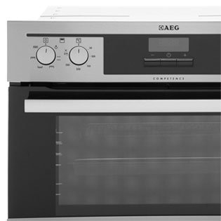 AEG Competence DC4013021M Built In Double Oven - Stainless Steel. It Will Perfeclty Look Great Built Into Your Kitchen