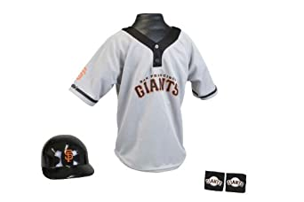 San Francisco Giants MLB Youth Team Uniform Set by Franklin